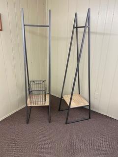 Decorative Racks w/ Storage Basket