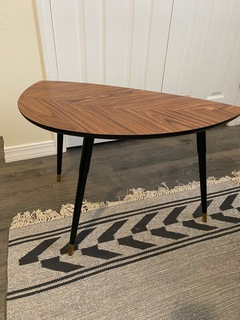 Irregular Triangle Accent Table
