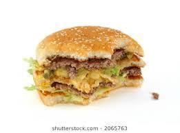 Half-Eaten Burger