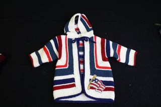 Hand Knitted Americana Sweater