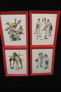 Norman Rockwell Preowned Sports Collection