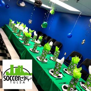 Soccer City Birthday Party