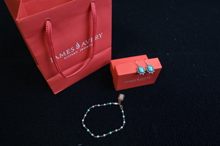 James Avery Bracelet and Earring set