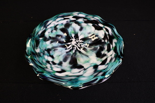Hand-Blown Bowl for Tulsa Glass Blowing School