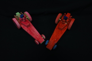 Racecar set painted by LLH Students