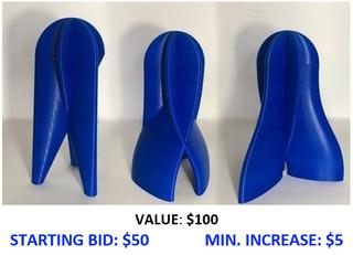 Lithium.1 -- 3D Printed Vessels by Bill Klimley