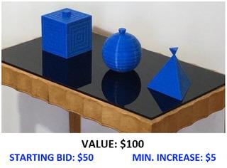 Sugar Bowls.1 -- 3D Printed Vessels by Bill Klimley
