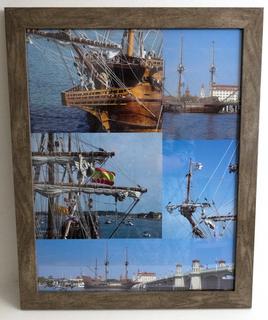 El Galeon Ship Photo Collage