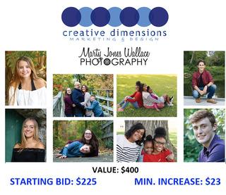 Portrait Package for Seniors or Family