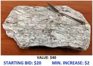Granite Cheese Board II