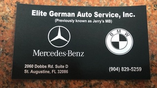 Oil Service for any BMW or Mercedes Benz