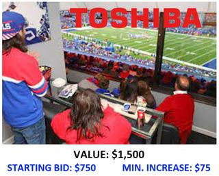 4. Bills vs. Jets in Toshbia's Office Suite