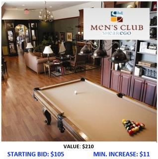Men's Club at Shear Ego