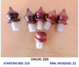Set of Wine Bottle Stoppers