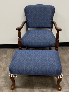 16 - Matching Chair and Ottoman