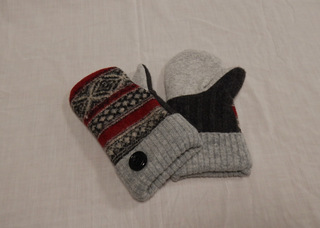 Mittens, by Donna Bour-Purdy, member of SAWS2