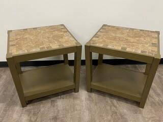 26 - Tile End Tables