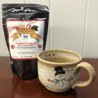 09 - Lagniappe Cocoa with Snowman Mug