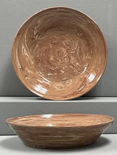 16 - Agateware Bowl