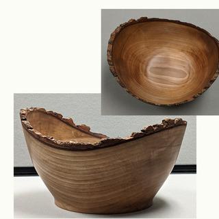 29 - Raw Edge Wooden Bowl