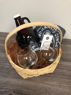17. Enchanted Circle Brewing Basket