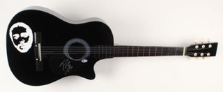 "Post Malone Signed 38"" Acoustic Guitar"
