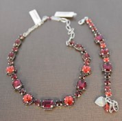 Mariana Lady In Red Necklace and Bracelet