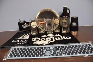 Craft Beer, Don Julio, & Casa Amigos Bar Accessory Set