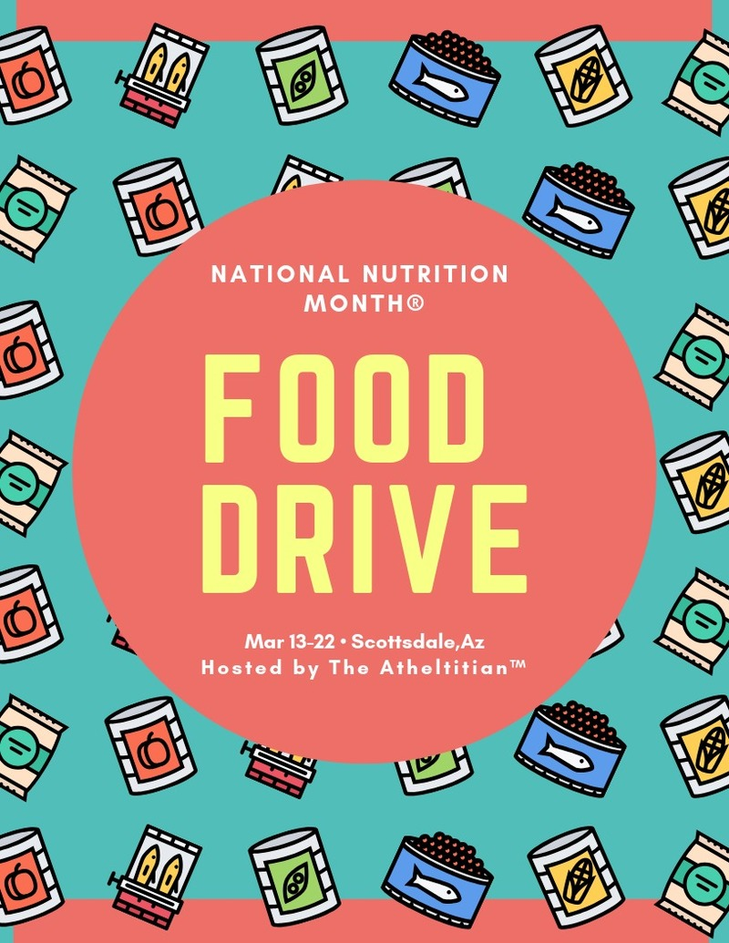 1st Annual NNM Food Drive