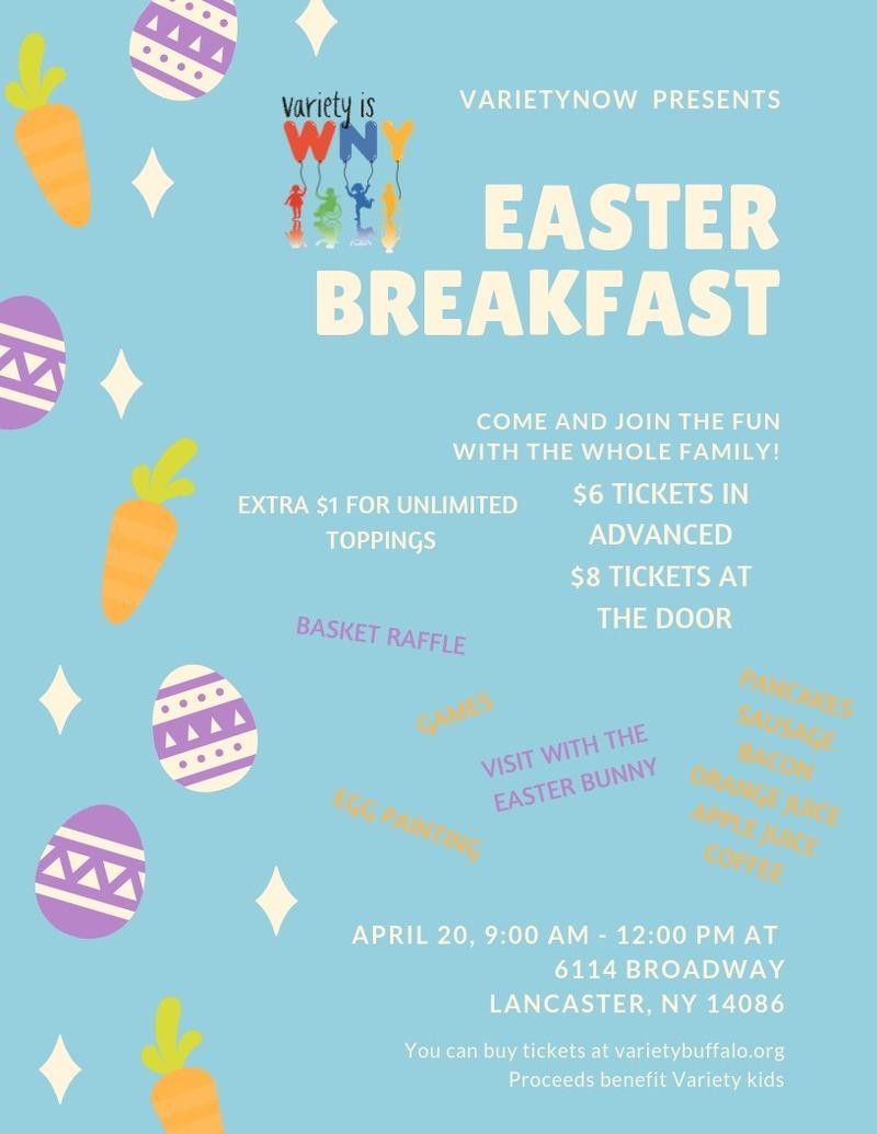 VarietyNOW Pancake Easter Breakfast