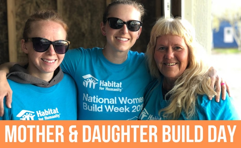 Mother & Daughter Build Day 2019