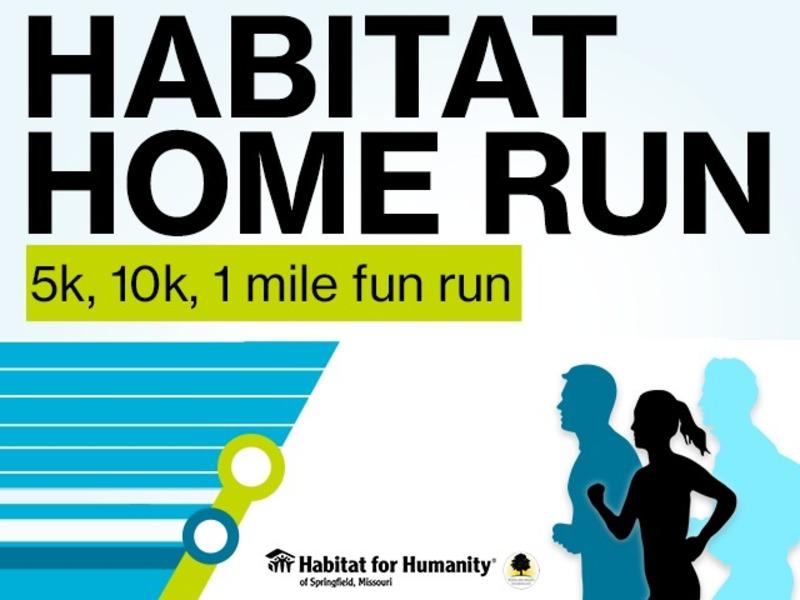 Habitat Home Run: 5k, 10k, 1 mile fun run - 2019