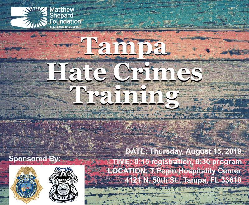 Tampa Hate Crimes Training