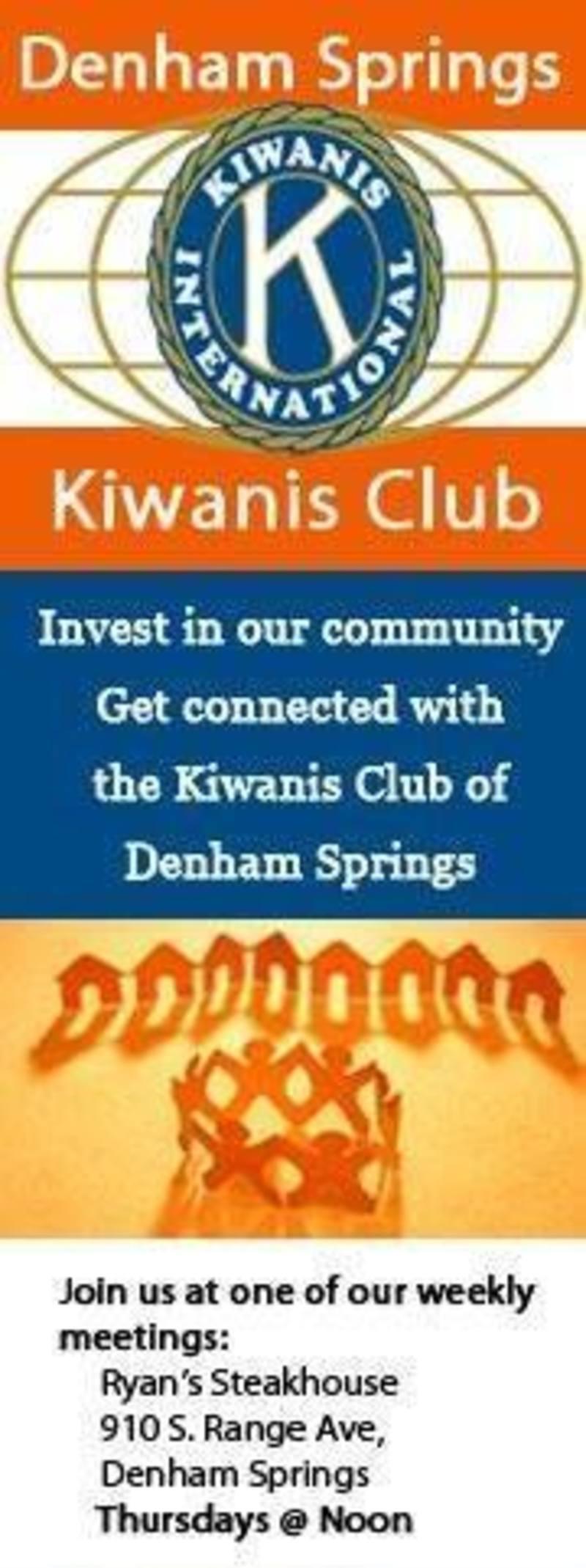 Denham Springs Kiwanis Presentation
