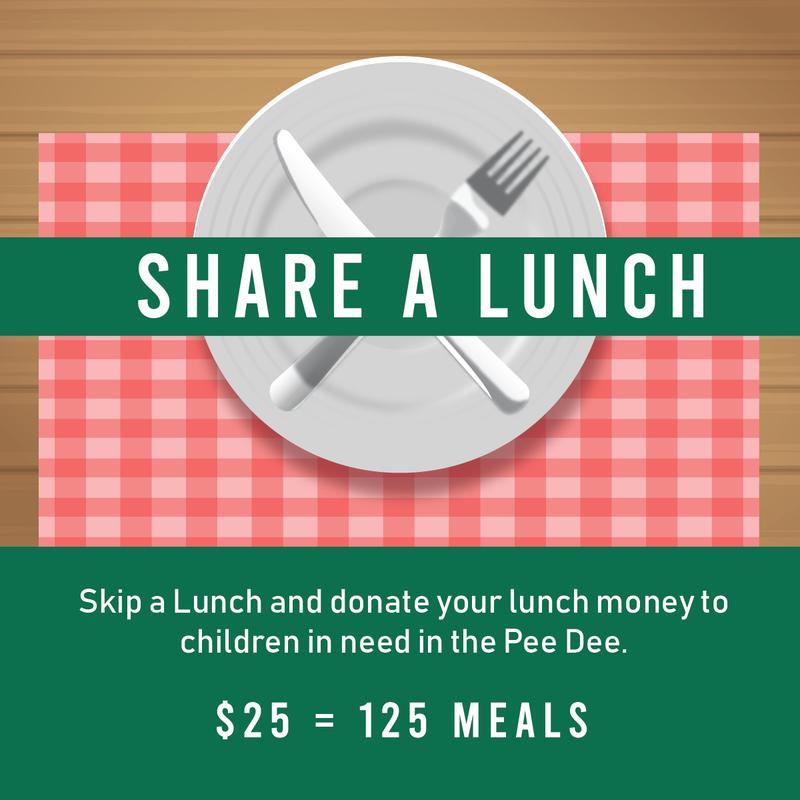 El'Jireth Penecostal Church Share a Lunch Fundraiser for Harvest Hope
