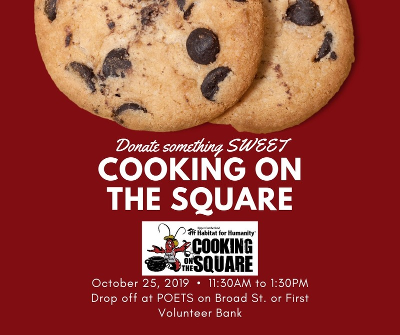 Cooking on the Square Donations of Baked Goods
