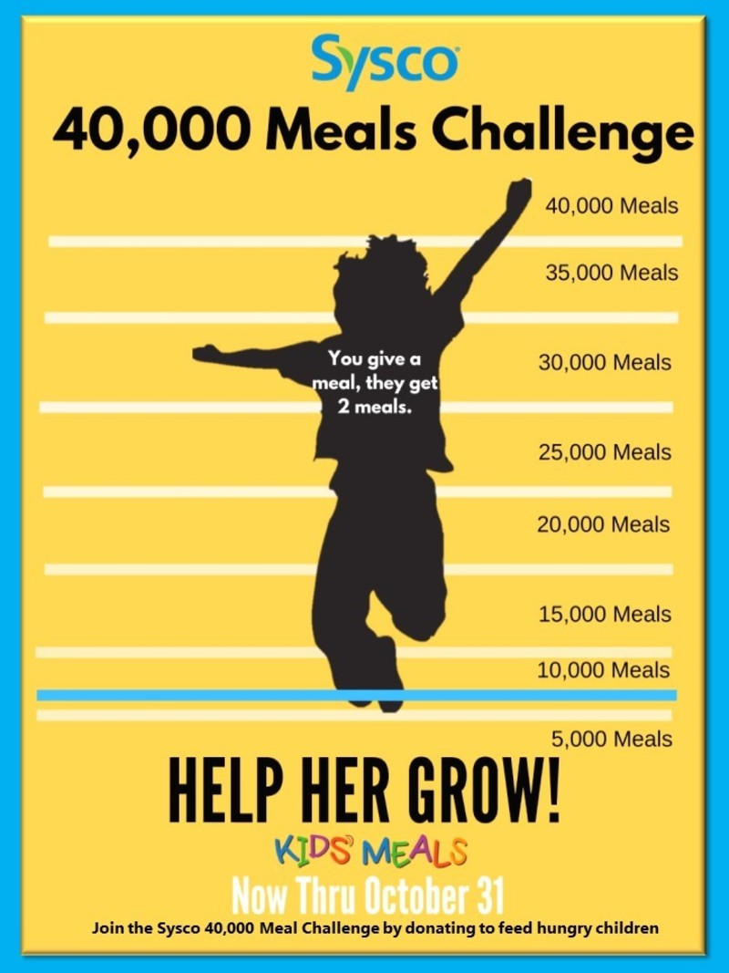 Sysco 40,000 Meal Challenge