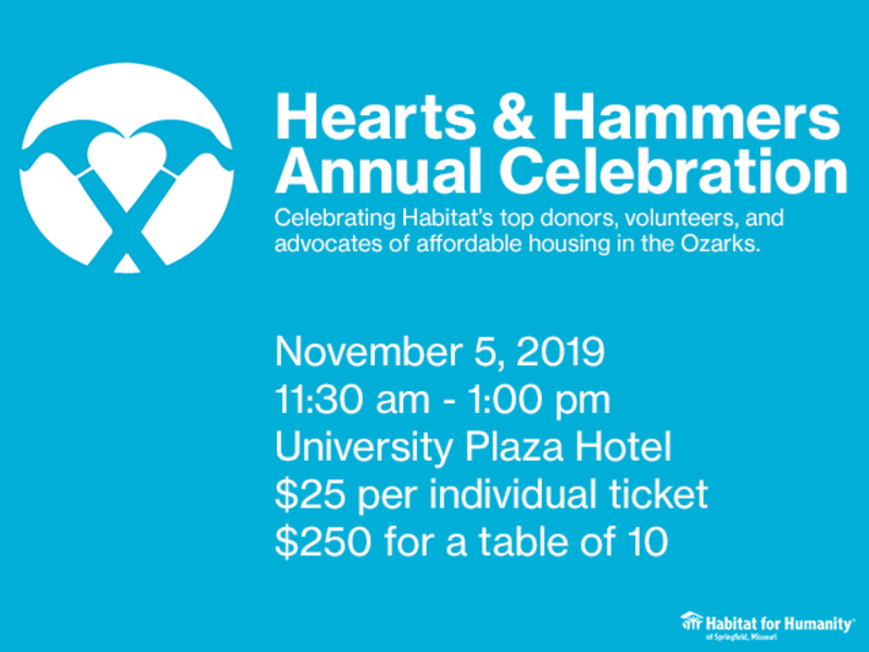 Hearts & Hammers Annual Celebration - 2019