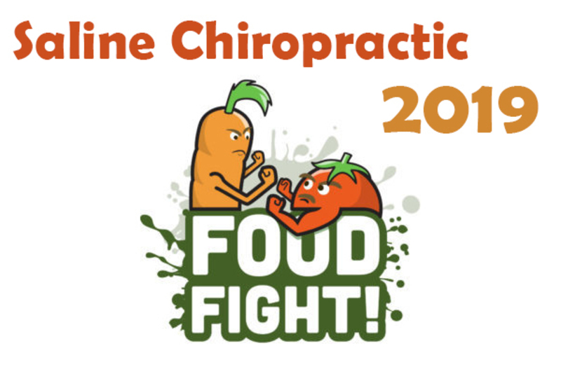 Saline Chiropractic 2019 Food Fight