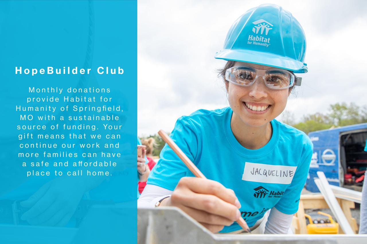 HopeBuilder Club