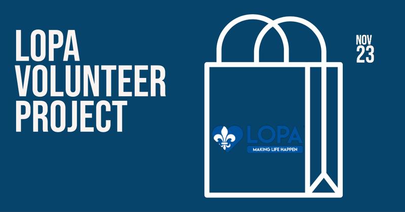LOPA Volunteer Project Day - Monroe