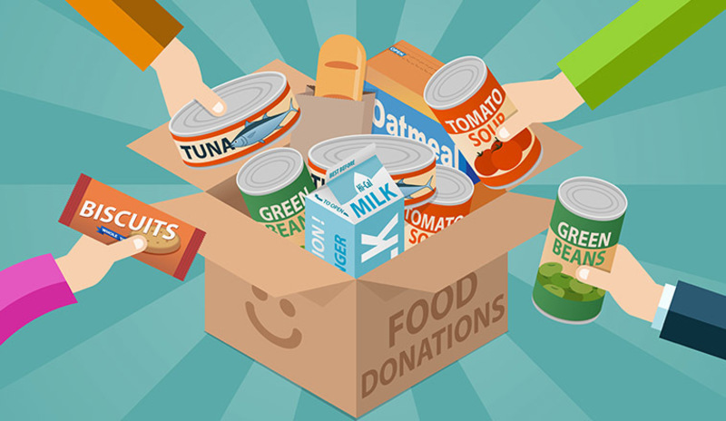 United Food Bank Donation Drive