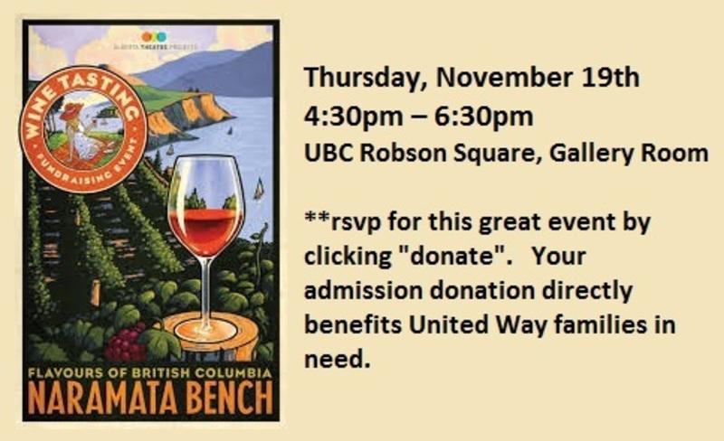 UBC 3rd Annual Wine Tasting Fundraiser