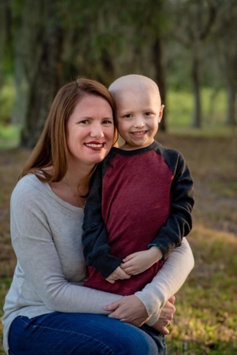 Support The Children's Cancer Center for kids like Finn