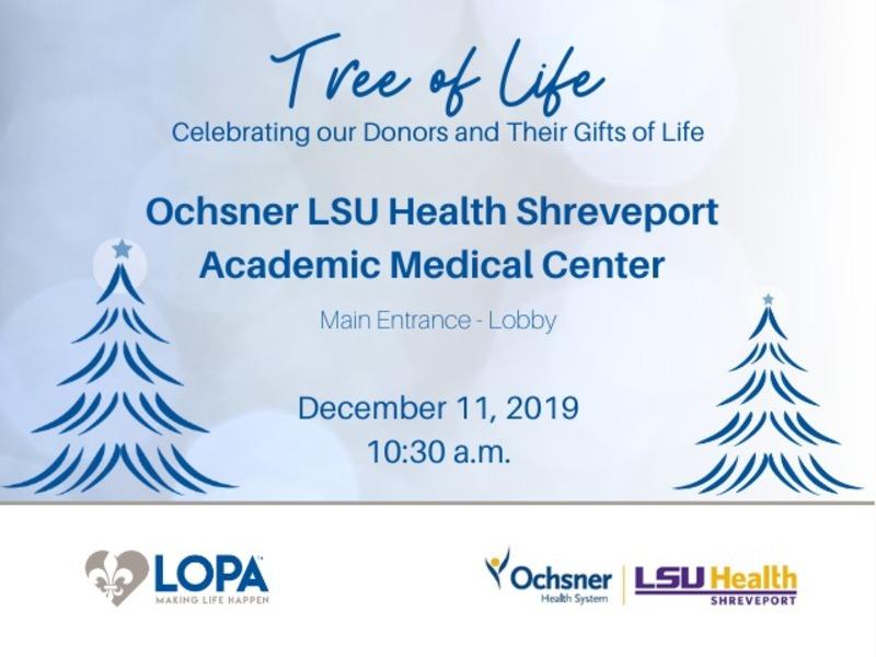 Tree of Life - Shreveport