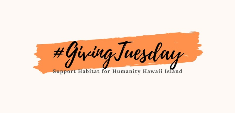 #Giving Tuesday 2019
