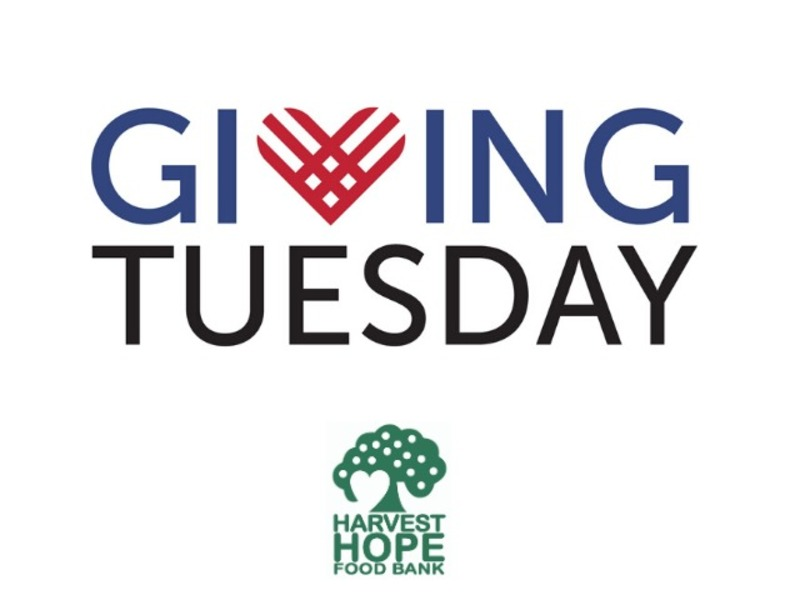 Giving Tuesday Fundraiser for Harvest Hope Food Bank