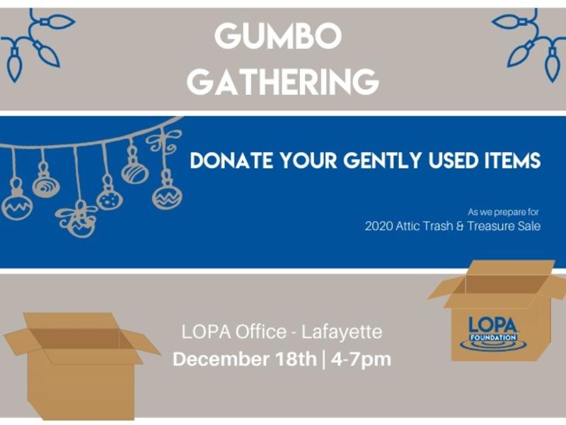 2019 GUMBO Gathering - Lafayette December