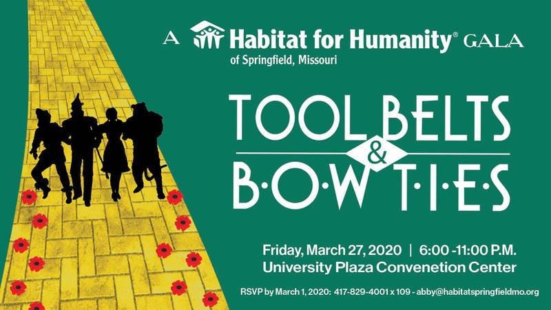 Tool Belts and Bow Ties Volunteers
