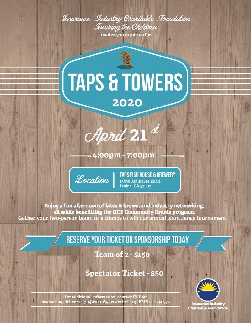 IICF Taps & Towers 2020
